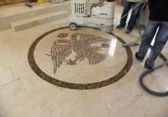 Mozaic decorativ - Vulturul Bicefal