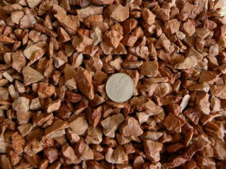Mozaic marmura rosu
