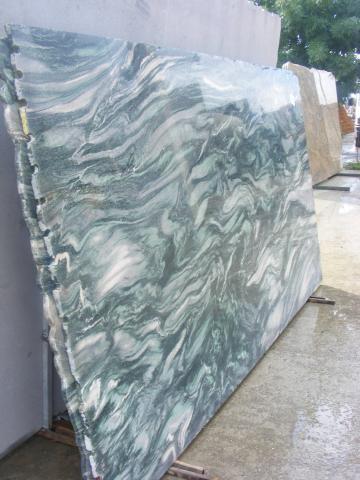 Blat Granit Verde Laponia Decupaj Rotund Piatra Neamt