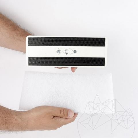 Burete alb LTP - Curata suprafetele delicate (elimina murdaria, adezivul, chitul)