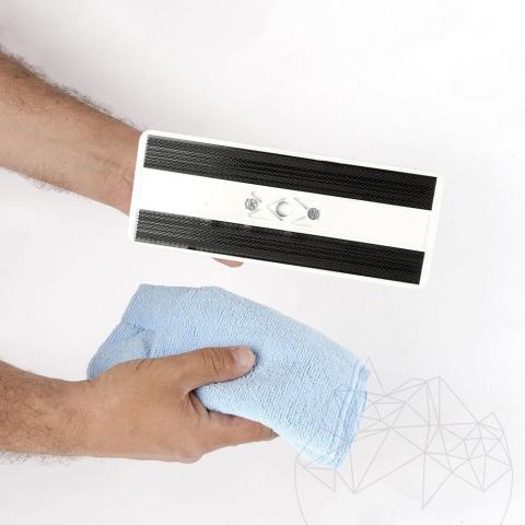 Laveta microfibra albastra LTP (perfecta pt. aplicarea impermeabilizantului si curatare)