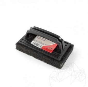 Burete negru cu maner LTP - Abraziv pt. suprafete dificile (elimina murdaria, adezivul, chitul)