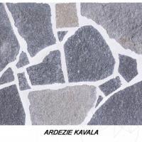 Mobilier Gradina (masa + 2 bancute) - Placat piatra poligonala