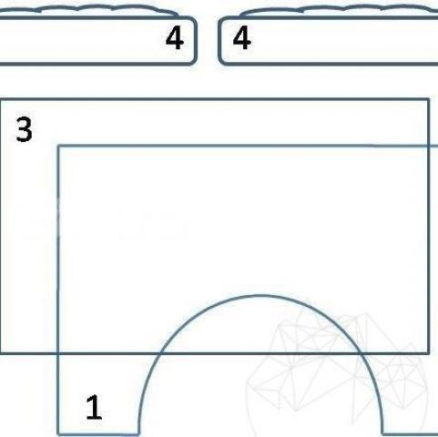 Acoperis pentru gratar gradina + cuptor incorporat