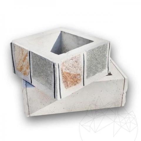 Element horn pentru cuptor gradina 30 x 30cm - Piatra Naturala Poligonala