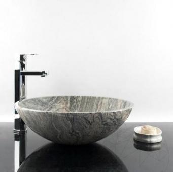 Chiuveta baie Granit Fantastico Juparana 42 x 14 cm