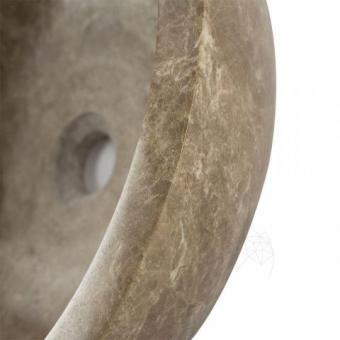 Chiuveta baie marmura Light Emperador RS-5, 42 x 15 cm