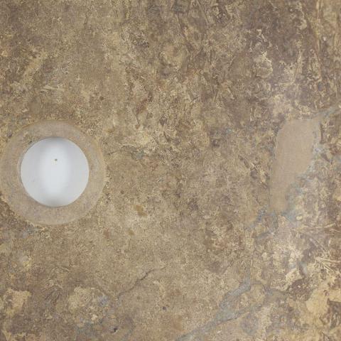 Chiuveta baie travertin Latte RS-5, 42 x 15 cm