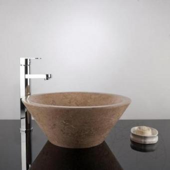 Chiuveta baie travertin Latte RS-5