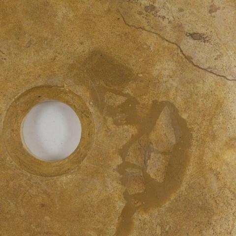 Chiuveta baie travertin Yellow RS-5, 42 x 15 cm