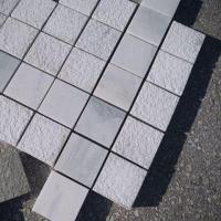 Piatra Cubica Marmura Kavala Buceardata 10 x 10 x 3 cm