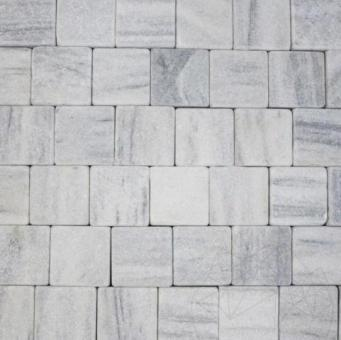 Piatra Cubica Marmura Kavala Antichizata 10 x 10 x 4-5 cm