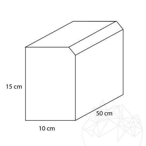 Bordura Granit Gri Sare si Piper (Bizotata 1L - 2cm)