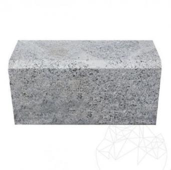 Bordura Granit Gri Sare si Piper (Bizotata 1L - 2cm) 20 x 25 x 50cm