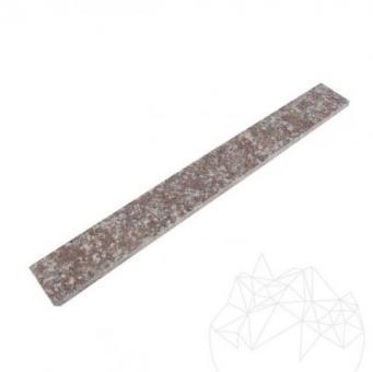 Plinta Granit Peach Red Polisat 7 x 60 x 1cm