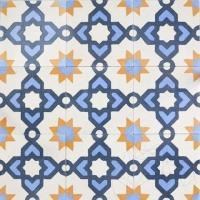 Terrazzo Oriental KR-09 Albastru 20 x 20 x 1.8cm