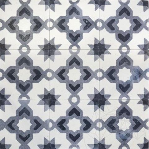 Terrazzo Oriental KR-09 Negru 20 x 20 x 1.8cm