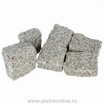 Piatra Cubica Natur Gri Granit