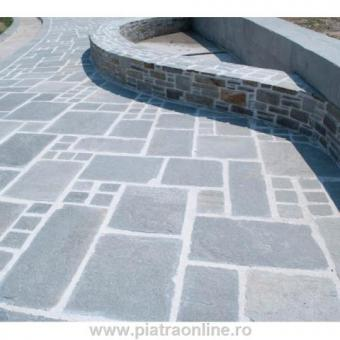 Roman Pattern Ardezie Kavala Hand Cut (Pavaj Exterior)