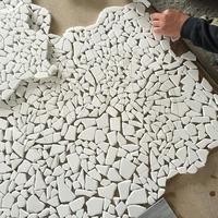 Mozaic Marmura Thasos Crazy Paving Antichizat