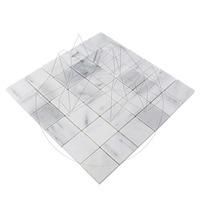 Mozaic Marmura Kavala Polisata 4.8 x 4.8 cm