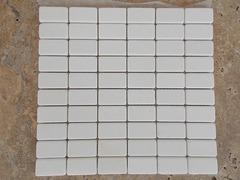 Mosaic Thassos 5x10 cm
