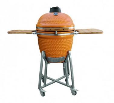 Grill BBQ Ceramic, Orange, 46 cm, Studio Line