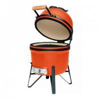 Grill BBQ Ceramic, Orange, 27 cm, Studio Line