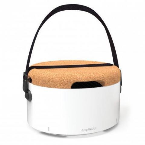 Grill portabil BBQ, White, Studio Line