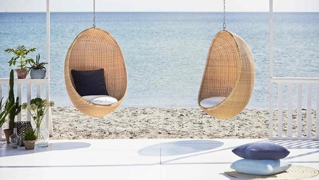 Balansoar Egg Chair Natur