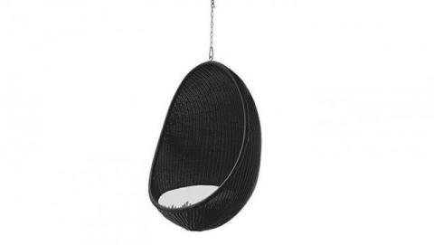 Balansoar Egg Chair Black